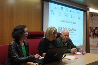 Imagen de la presentación de la campaña Rentarapia en Santiago.